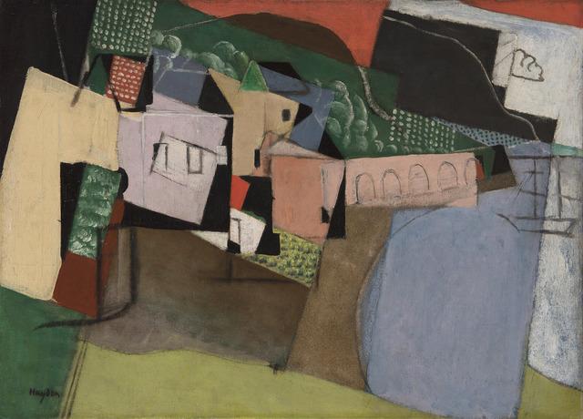 Henri Hayden, 'Le port aux arcades', 1917, HELENE BAILLY GALLERY