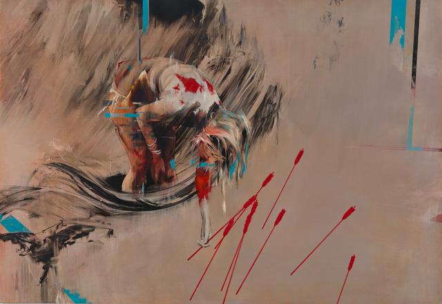 , 'Collecting Arrows,' 2016, Lazinc