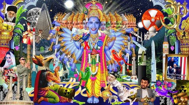 , 'Krishna - Odharma,' , Postmasters Gallery