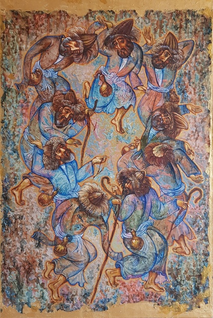, 'Dance of dervishes (Zikr),' 2016, OYANU Gallery