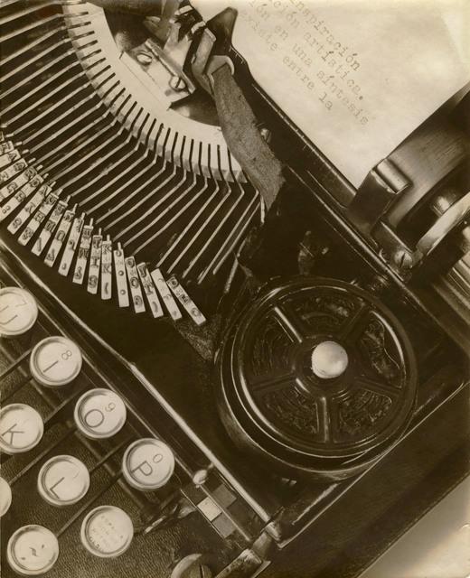 , 'Mella's Typewriter,' 1928, Edwynn Houk Gallery