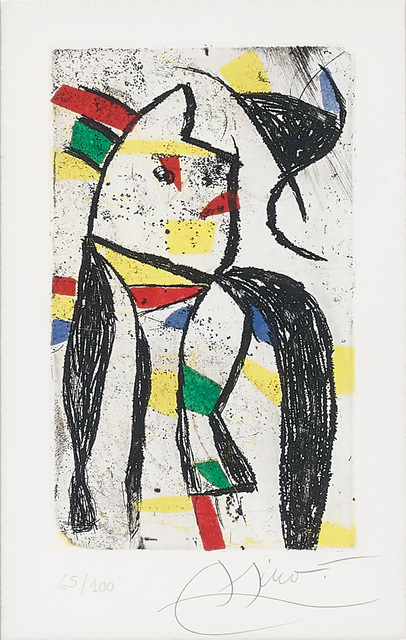 Joan Miró, 'Ruban', 1981, Le Coin des Arts