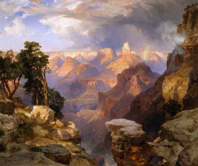, 'Grand Canyon with Rainbow,' 1912, Legion of Honor
