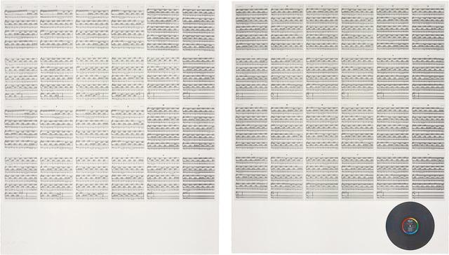 Hanne Darboven, '24 Gesänge (24 Chants)', 1990, Phillips