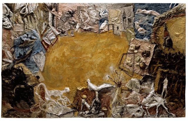 , 'Atelier avec Six Taureaux,' 1994, Musée Picasso Paris
