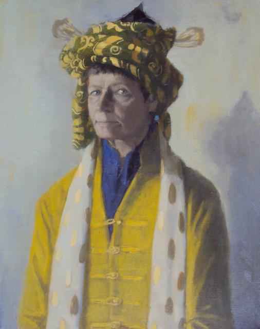 Olga Antonova, 'Self portrait with Chinese jacket', 2017, Rice Polak Gallery