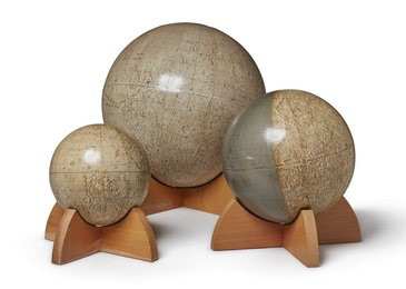 Three Planetary Globes