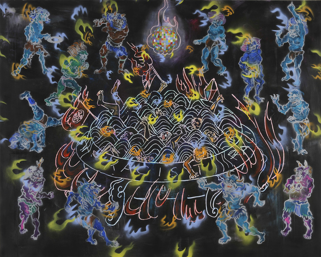 , 'CLUB BURNING-HELL,' 2015, Ota Fine Arts