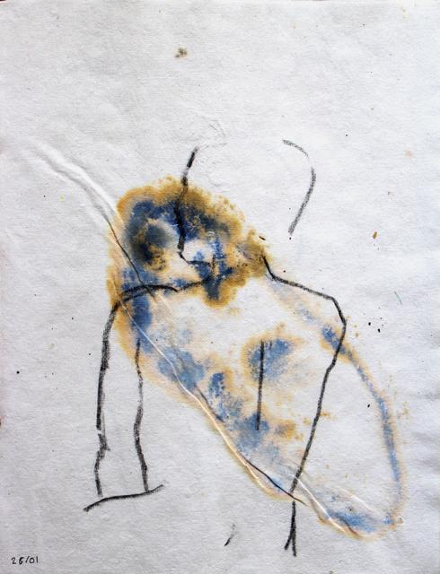 Beya Gilles Gacha, '26/01 - Study of a Body', 2019, L'agence à Paris