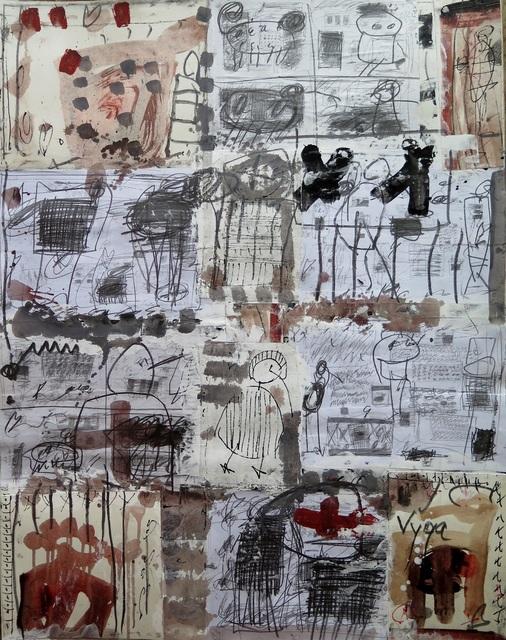 , 'Collage VI,' 2015, Spotte Art