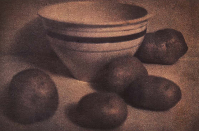 , 'Roseville Bowl with Potatoes.,' 1982, Peter Fetterman Gallery