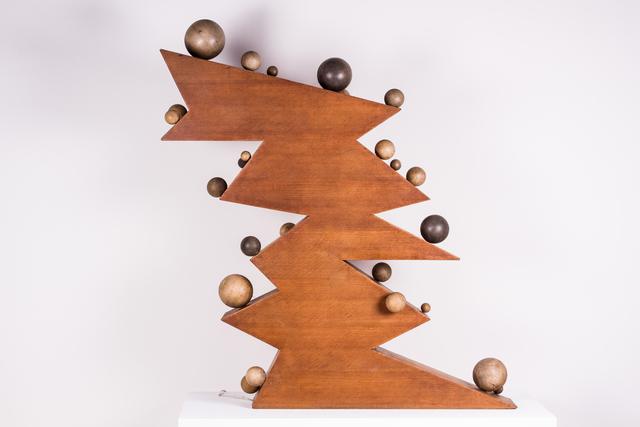 , 'Vingt cinq boules sur dix plans inclinés,' 1965, Jules Maeght Gallery