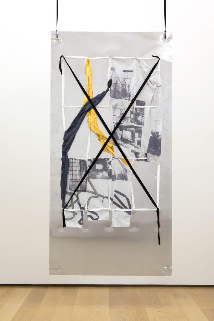 Yorgos Sapountzis, 'Reklame Athens Screens - green yellow,' 2014, Eleni Koroneou
