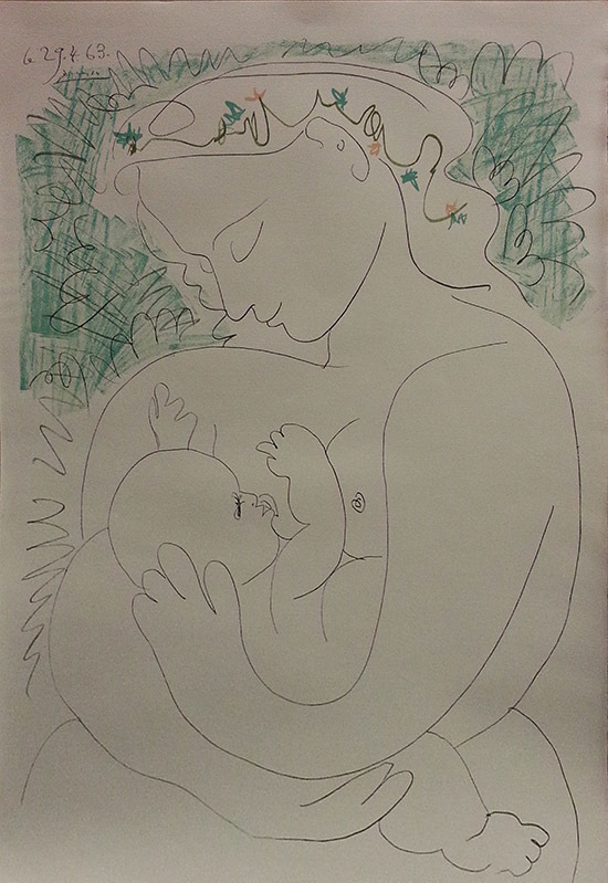 After Pablo Picasso | MATERNITÉ (ca. 1963) | Available for Sale | Artsy