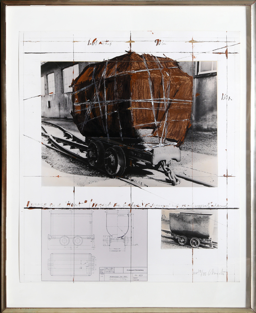 Christo, 'Package on a Hunt', 1988, RoGallery