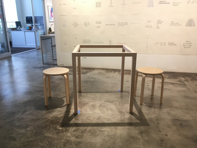 Christy Chan, 'The Nowhere to Hide Table', 2019, Kala Art Institute