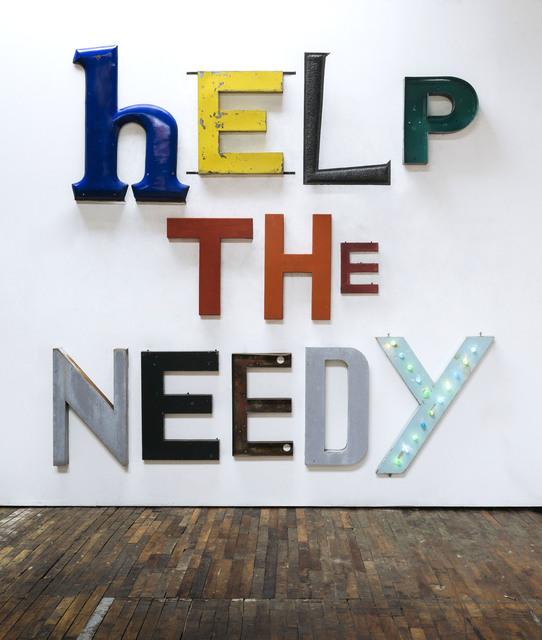 , 'HELP THE NEEDY,' 2019, Cheim & Read