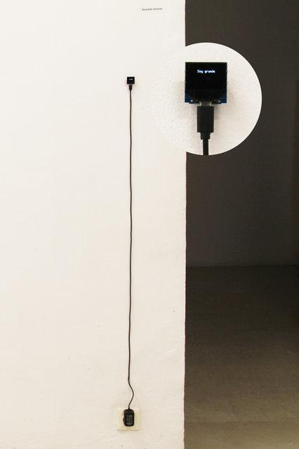 , 'Soy grande,' 2017, Galería Weber-Lutgen