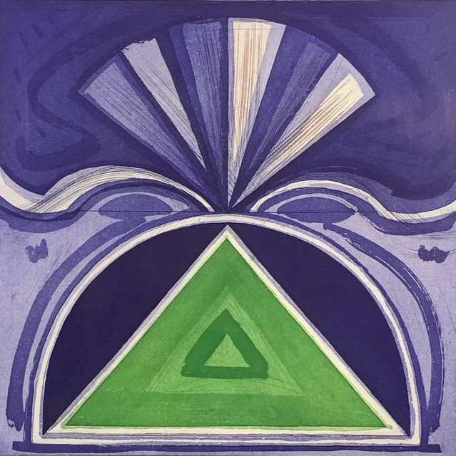 Gordon House, 'Skirrid from the Welsh Portfolio', 1984, Washington Color