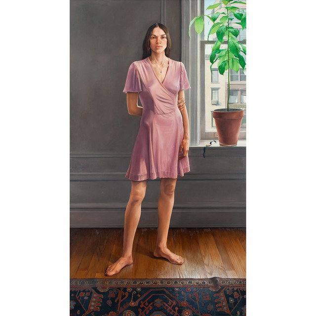 , 'Portrait of Diana II (Pink Dress),' 1973, Allan Stone Projects