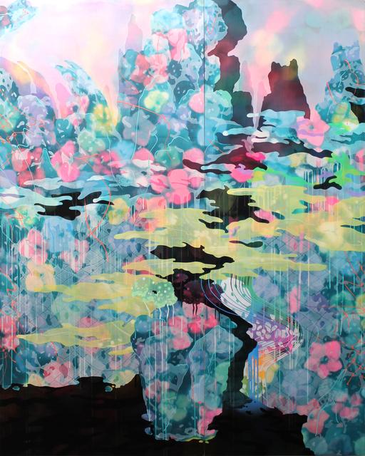 , 'The Black Lake (A Bluegreen Landscape) II,' 2015, C. Grimaldis Gallery