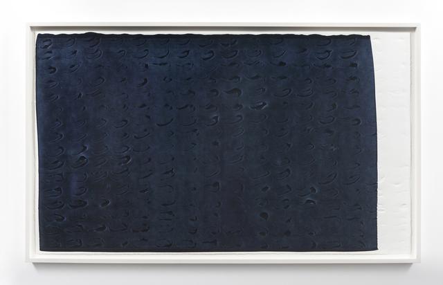 , 'Brushstroke Matrix, XL (Payne's Gray),' 2017, Gemini G.E.L.