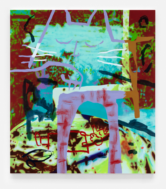 , 'Kings Canyon,' 2018, VARIOUS SMALL FIRES