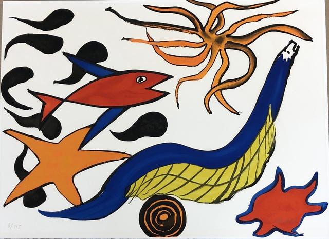 Alexander Calder, 'Our Unfinished Revolution II', 1975-76, Denis Bloch Fine Art