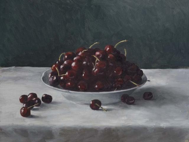 , 'Bowl of Cherries ,' 2017, OLSEN GALLERY