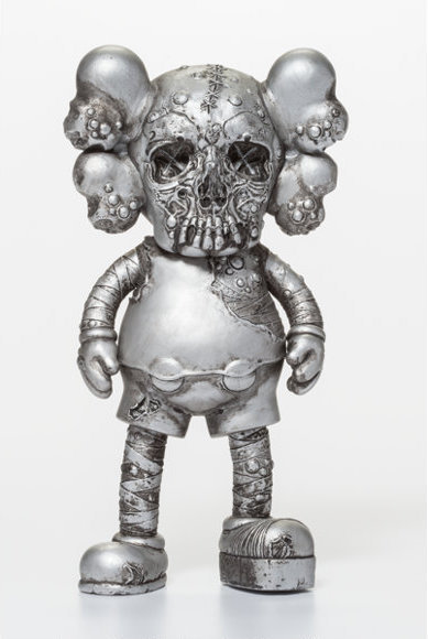 KAWS, 'Pushead Companion Silver', 2005, Dope! Gallery