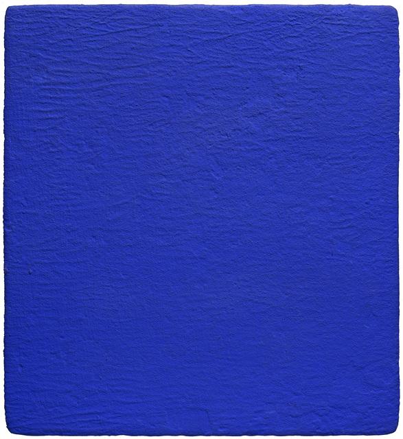 , 'Monochrome bleu IKB,' 1959, Galerie Natalie Seroussi