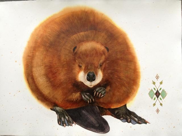 Scott Kelley, 'American Beaver', 2013, Sigrid Freundorfer Fine Art