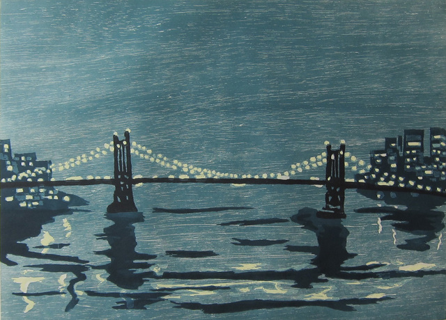 , 'Bridges I,' 1997, Albert Merola Gallery