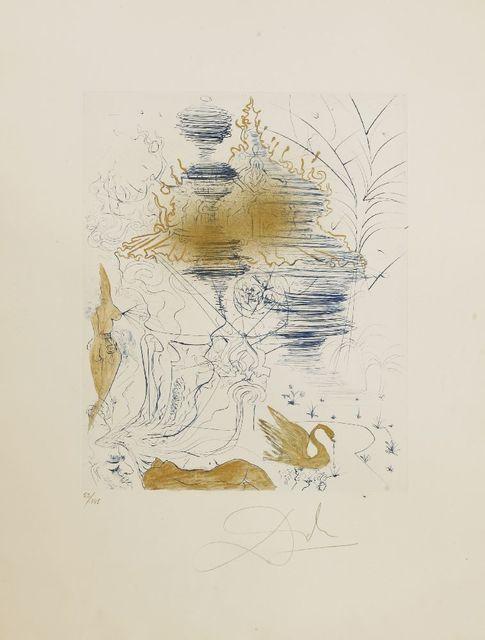 Salvador Dalí, 'LA PAGODE', 1969, Sworders