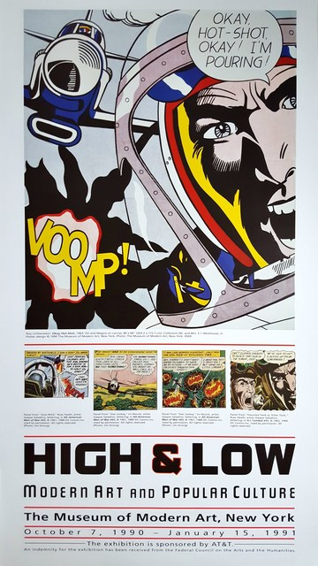 Roy Lichtenstein, 'High & Low. Modern Art and Popular Culture', 1990, Graves International Art