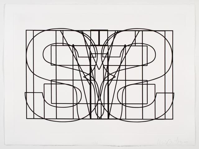 , 'Symmetrical Jails,' 2014, RENÉ SCHMITT