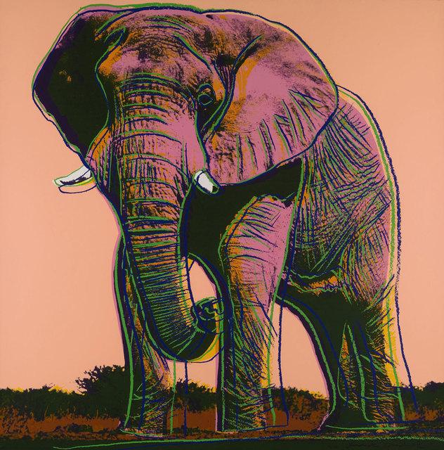 Andy Warhol, 'African Elephant (FS II.293)', 1983, Revolver Gallery