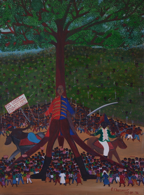 , 'L'arbre de la liberté,' 1994, Le Centre d'Art d'Haïti