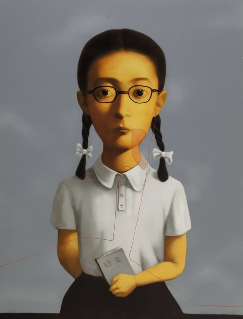 Zhang Xiaogang, 'Girl, from Big Family', 2006, Heritage Auctions