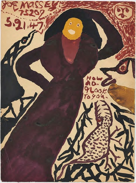 ", '""How do. I look. to you"",' 1947, Ricco/Maresca Gallery"
