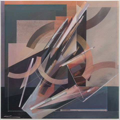 Augustine Kofie, 'Cool Breeze', 2020, Painting, Acrylic polymer on synthetic polyester canvas; finished in satin varnish, strip framed in dark pine by artist, KIRK Gallery