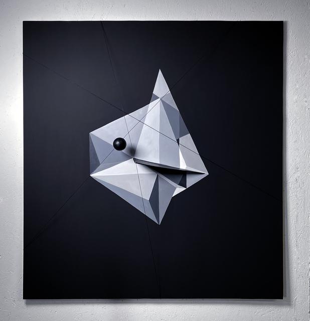Heike Wähner, 'Ohne Unterschrift 24', 2021, Painting, Wood foam, Alfa Gallery