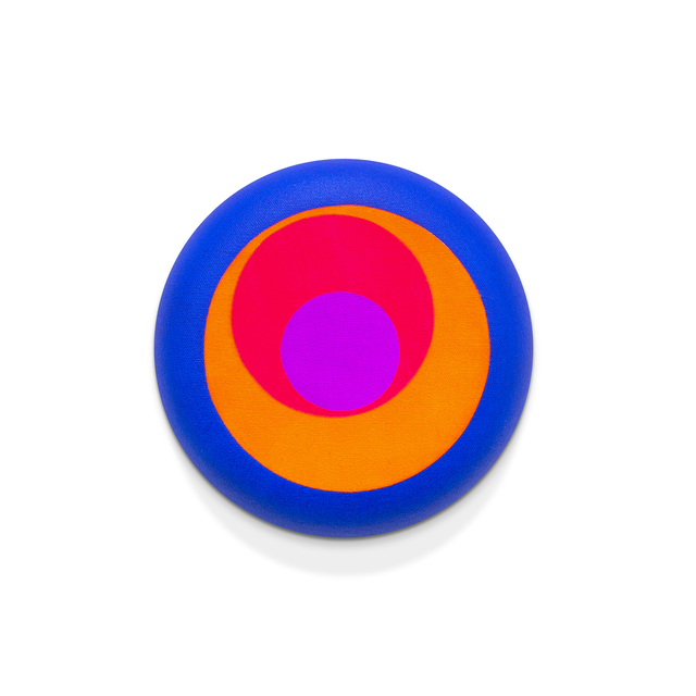 Paul Henry Ramirez, 'Paint Pour 32', 2015, Painting, Acrylic on convex canvas, RYAN LEE