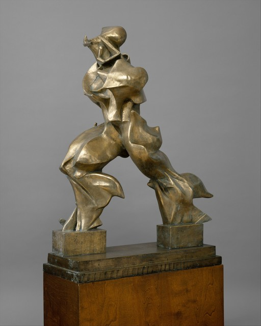 Umberto Boccioni, 'Unique Forms of Continuity in Space', 1913–1950, The Metropolitan Museum of Art