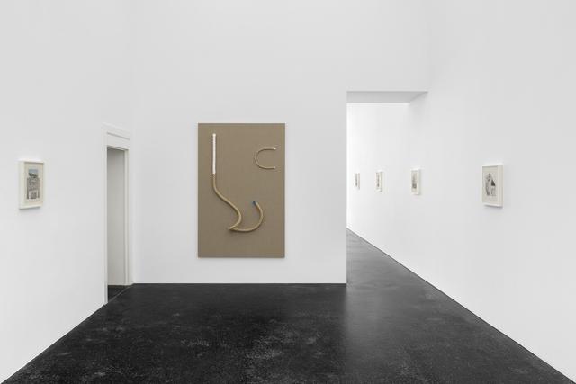 Alexandre da Cunha, 'Tête à Tête (Painting I)', 2018, Sculpture, Ropes, acrylic, linen, Office Baroque