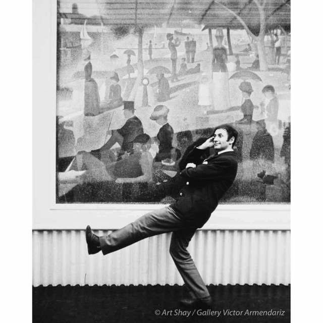 , 'A La Grande Jatte, Chicago (Marcel Marceau), 1958,' 2017, Gallery Victor Armendariz