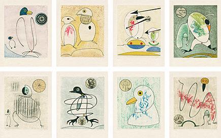 Max Ernst, 'Oiseaux en péril', 1975, Galerie Boisseree
