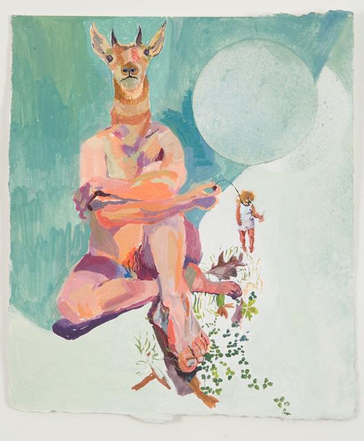 Jenny Toth, 'Inner Artist on a String', 2005, Tabla Rasa Gallery