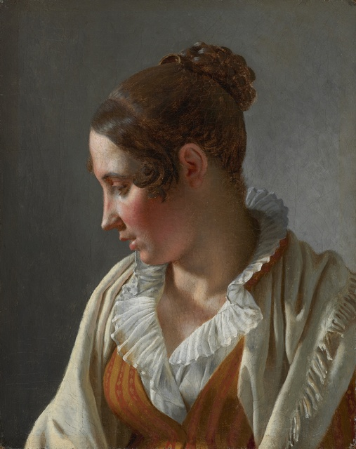 , 'Portrait of Emilie, a Model,' 1813, Statens Museum for Kunst
