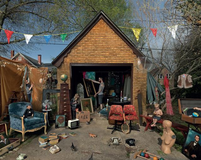 Julie Blackmon, 'Garage Sale', 2013, Fahey/Klein Gallery